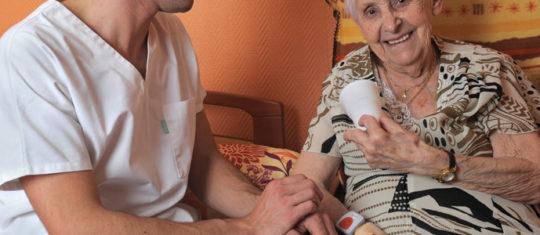 sécuriser les personnes âgées