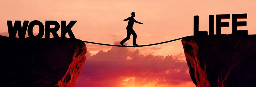 Equilibre entre votre vie professionnelle et vie privée
