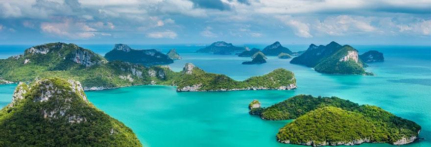 île de Thaïlande
