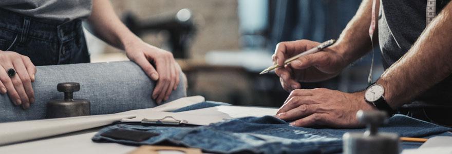 métiers de la mode et du textile