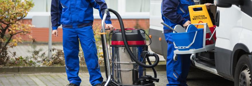 équipement pour le nettoyage professionnel