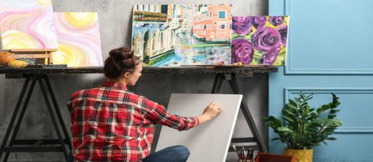 œuvres d'art de peintres