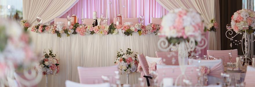 décoration de salle de mariage
